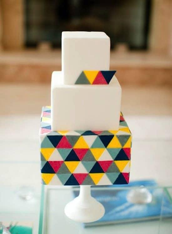 tarta de bodas grafico