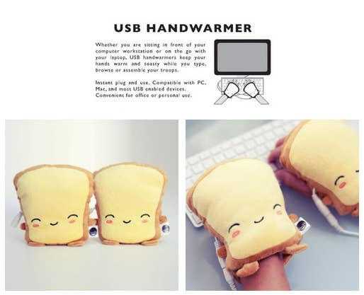 How else will your hands stay toasty?