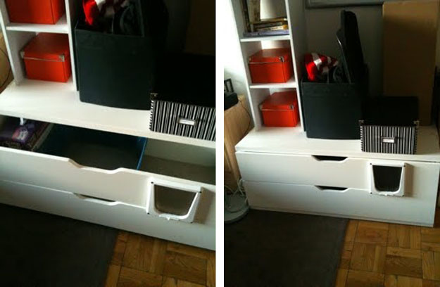 kitchen cabinets tops 27 useful diy solutions for hiding the litter box 21285