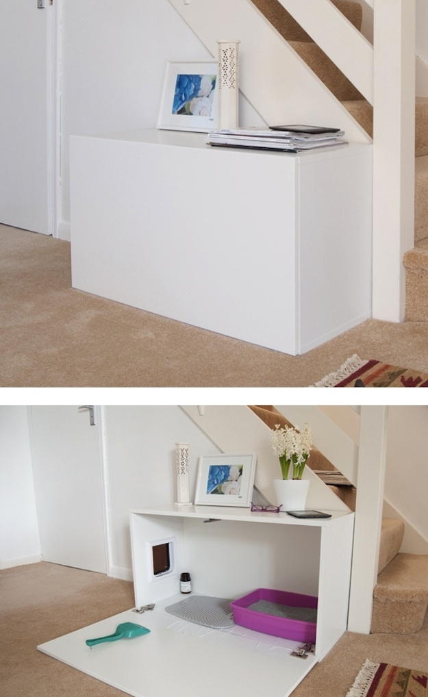 minimalist ikea cabinet hack