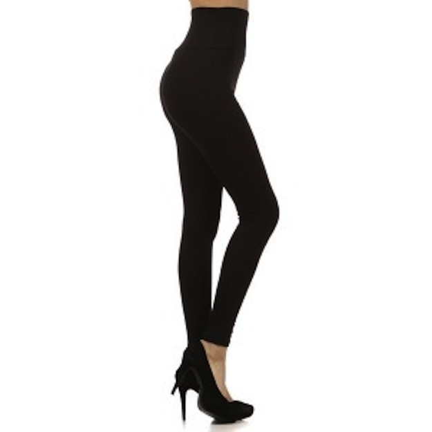 And when we do want to suck it all in, a high-waisted legging does the trick.