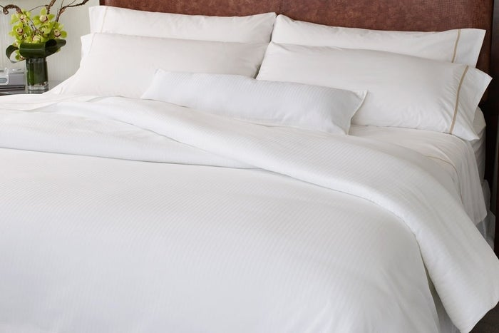 """No, but I've been asked this numerous times — once even by my cleaning lady. Which is pretty funny because she's SEEN my sheets. I'm thinking,""""Hey, lady, you make my bed! Ever seen any hole anywhere? Nuh-uh? It's cause we don't got 'em!"""" People assume that because we're outwardly modest that our modesty continues behind closed doors. It doesn't. (News flash: We also shower like regular people!) It's a big mitzvah for a husband and wife to be together — and not just for procreation. A wife's sexual satisfaction is actually part of her marital contract, and if her husband doesn't fulfill his end of the deal, it's grounds for divorce. Don't assume that because you don't see us being overtly sexual we aren't doing so in private places. That's the point: We believe these matters are *private.*"""