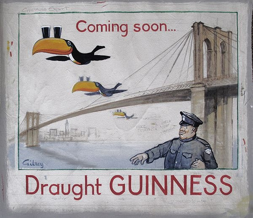 Guinness Toucan Mascot Tattoo: 35 Deliciously Fun Vintage Guinness Ads