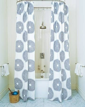Circular Shower Curtain Rails Add An Adorable Retro Feel