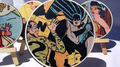 7. Comic Book Coasters