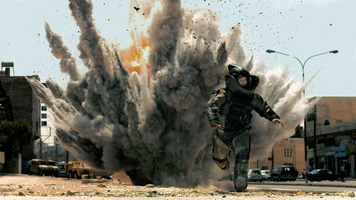 A scene from from The Hurt Locker.