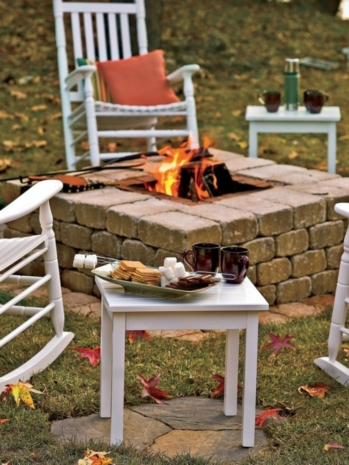 Build a fire pit.