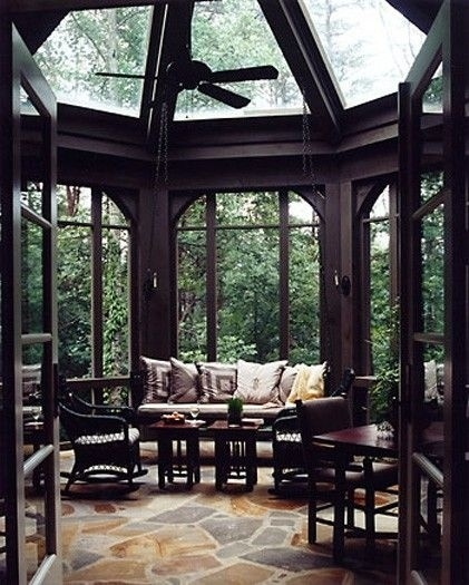 A Big Glass Gazebo