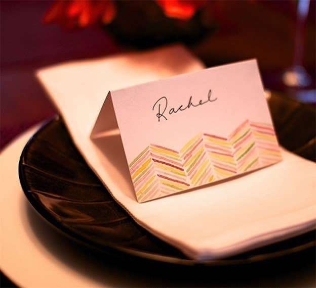 35 cute and clever ideas for place cards printable watercolor place cards solutioingenieria Images