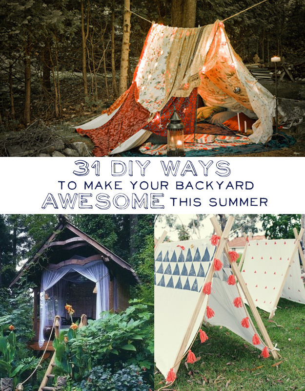 - 20+ Ways To Have Fun With Your Backyard This Summer