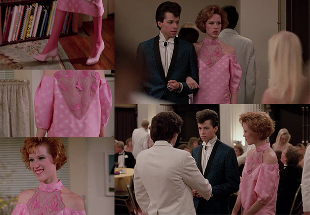Every Outfit Andie Wears In &quot-Pretty In Pink&quot-