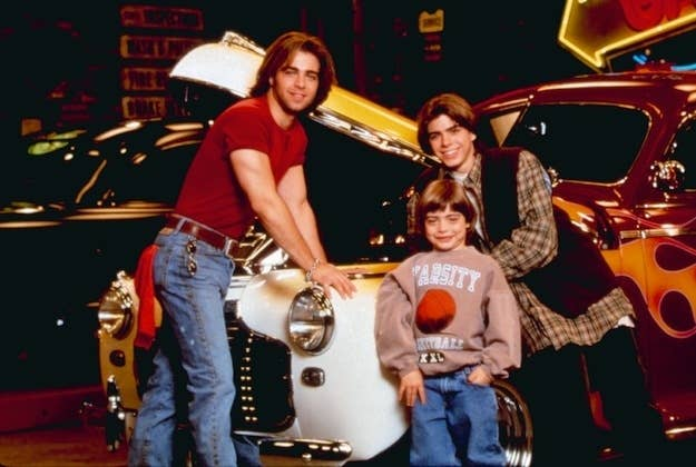 1995–1997, NBC/The WB. A chance to showcase the three Lawrence brothers at a time when they were the perfect heartthrobs for three different age groups: Joey, for those of us who'd gone through puberty, Matthew, for those still seeking someone completely non-threatening, and Andrew, for the little ones trying to get in on their older sister's Teen Beat shenanigans. It wasn't really very good, but damnit they were cute.