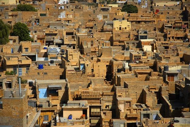 2. Jaisalmer, India.