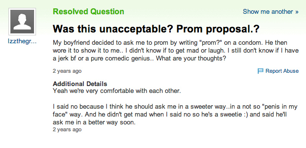 Asking a girl to prom quotes
