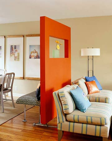 Ways To Maximize Space With Room Dividers - Floor dividers between rooms