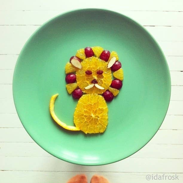 Follow @idafrosk on Instagram for more delightful plate art every day.