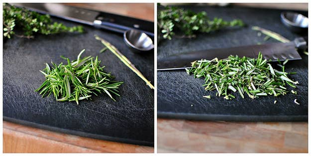 You know how you buy a little bunch of rosemary to use in ONE recipe and then it languishes in your fridge for days, and then weeks, and then it turns brown, and then it turns black, and then it starts sobbing quietly to itself at night and you have to throw it out? NEVER AGAIN. Whenever you've got a rosemary surplus on your hands, just turn to one of these recipes to get it out of your crisper drawer and into your stomach ASAP.