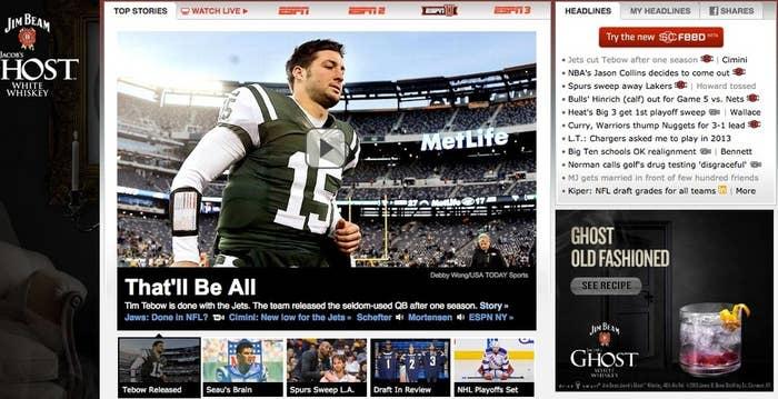 Jason Collins Vs  Tim Tebow Coverage Represents Old Vs  New ESPN