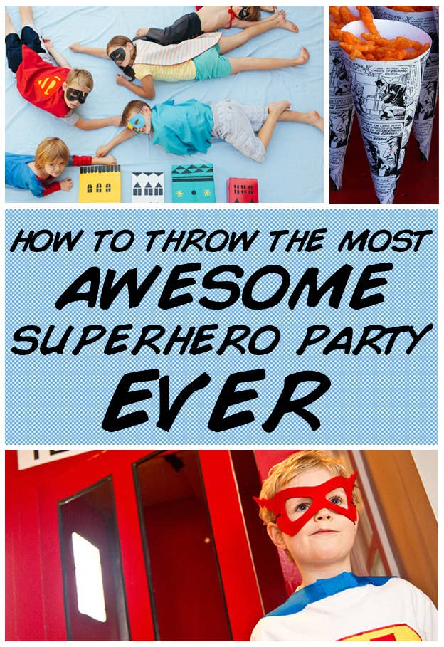 How To Throw The Most Awesome Superhero Party Ever