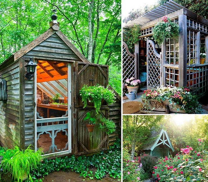 Garden Sheds Pictures all the garden sheds of your wildest, quaintest dreams