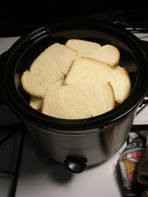Use your crock pot to make French toast.