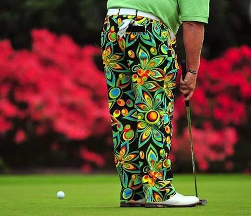 Those pants seriously look like what a jungle would look like if you ran over it with a truck.