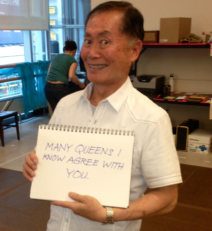 """George Takei Responds To """"Traditional"""" Marriage Fans"""