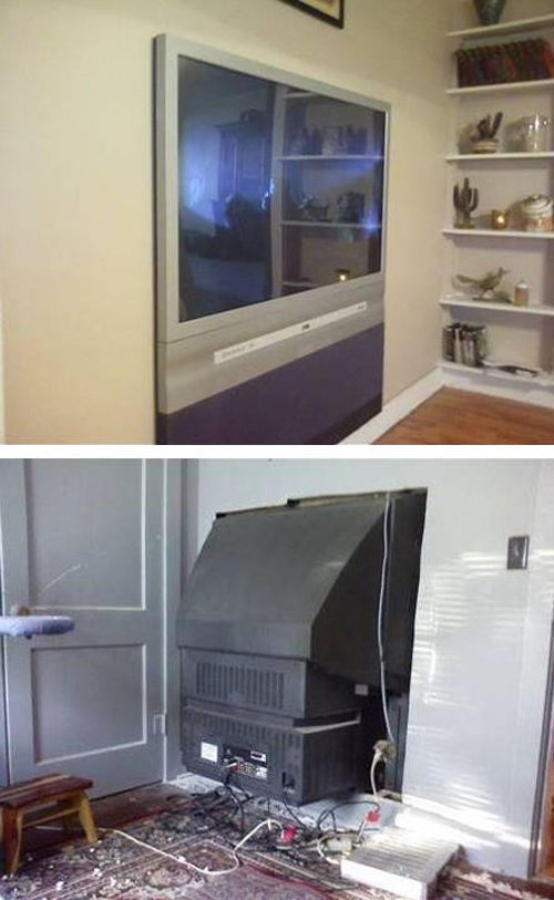 Flat Screen TV Installation