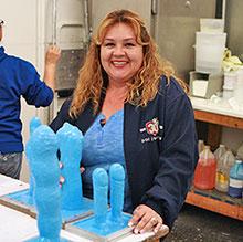 Women in dildo factory