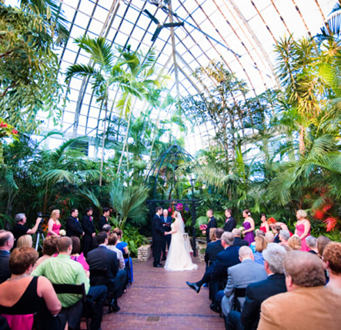 22 of the coolest places to get married in america for Beautiful gardens to get married in