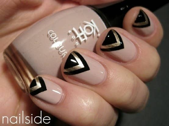 26 gorgeous great gatsby inspired manicures 14 prinsesfo Images