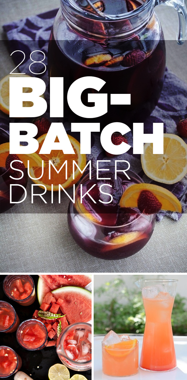 13 Big-Batch Summer Party Recipes That the Pickiest Guests WillLove