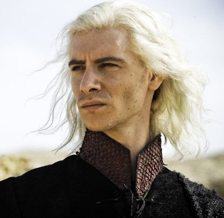 As Viserys Targaryen on Game of Thrones