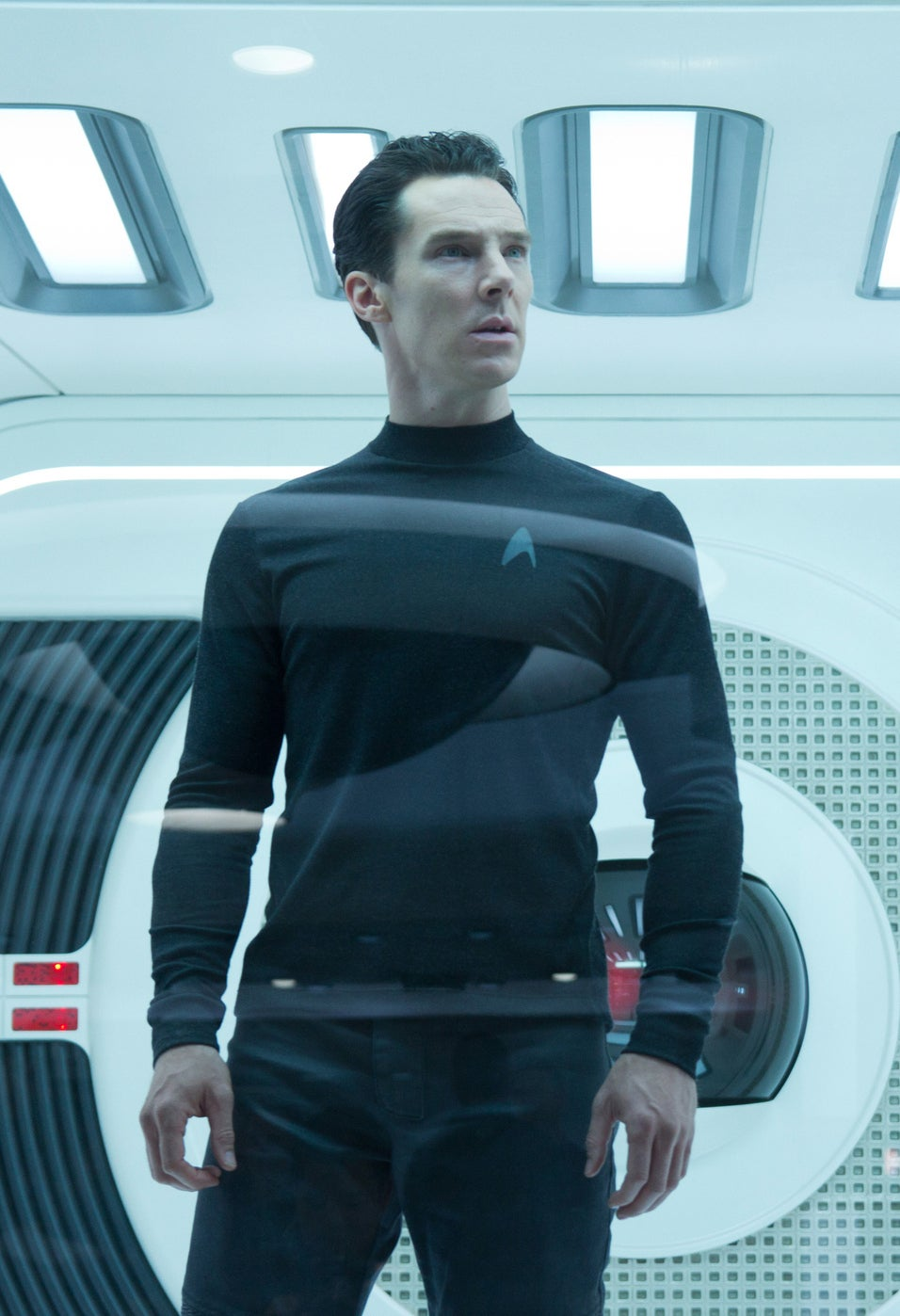 As Khan in Star Trek: Into Darkness