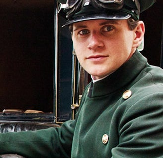 As Tom Branson on Downton Abbey