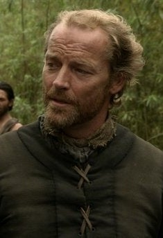 As Jorah Mormont on Game of Thrones