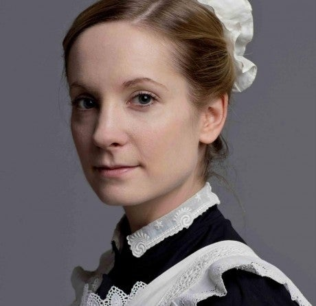 As Anna Bates on Downton Abbey