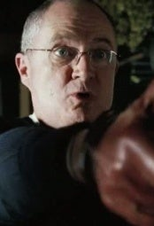 As Inspector Frank Butterman in Hot Fuzz