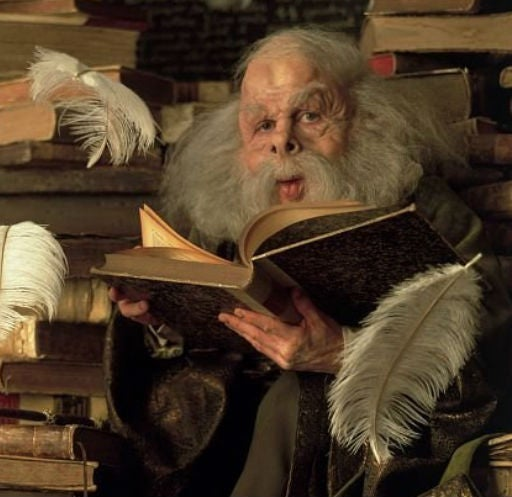 As professor Filius Flitwick in Harry Potter and the Sorcerer's Stone
