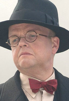 As Arnim Zola in Captain America: The First Avenger