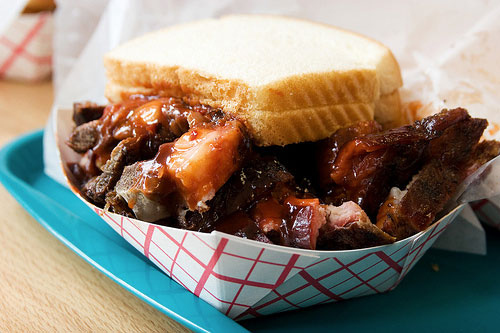 Eat as many regional BBQ styles as possible.