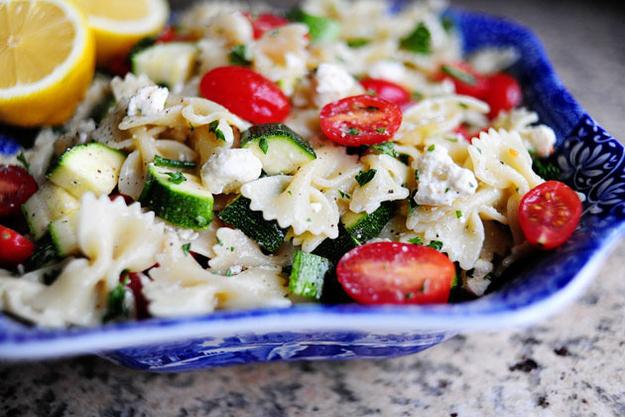 Easy Cold Vegetable Pasta Salad Recipe