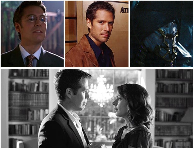 Alexis Denisof in Buffy the Vampire Slayer, Angel, The Avengers, and with Amy Acker in Much Ado About Nothing