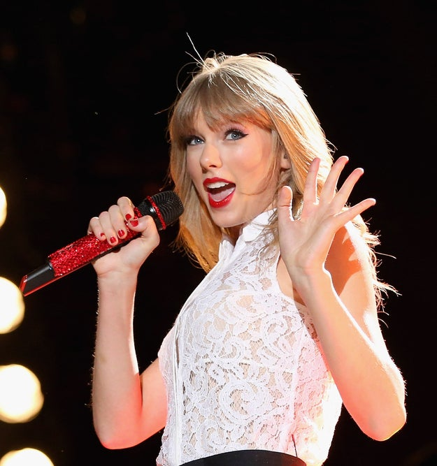 Swift performed at last year's meeting though it wasn't webcast at the request of her record label.