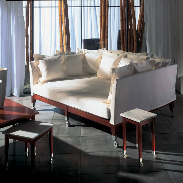 An Extremely Deep Sofa By Philippe Starck