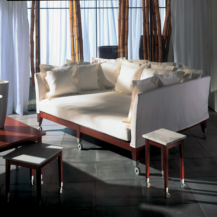 An Extremely Deep Sofa By Philippe Starck.