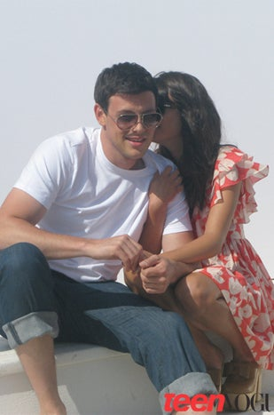 lea michele and cory monteith dating 2010