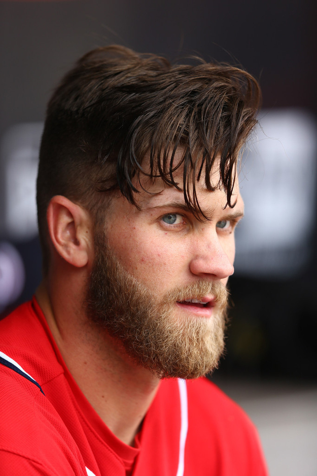 a meditation on the transcendence of bryce harpers hair