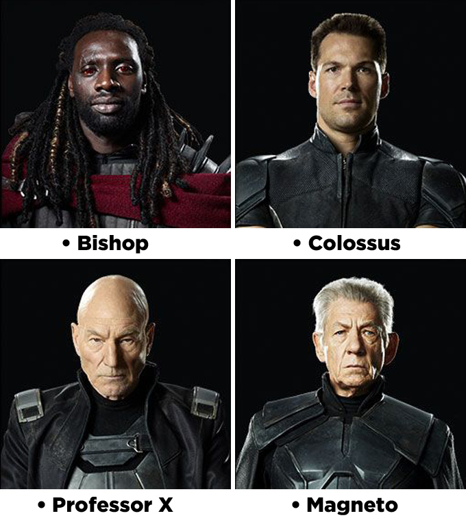 """X-Men: Days Of Future Past"" Character Headshots Revealed"