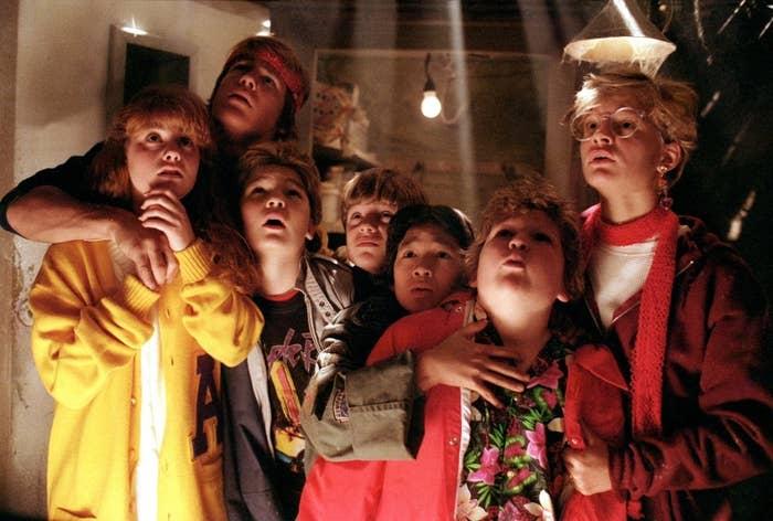 As seen in The Goonies (1985).